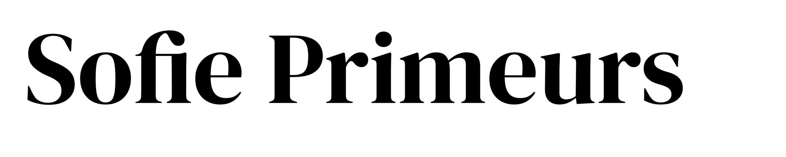 Sofie Primeurs